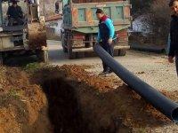 Hasköy'ün kanalizasyon sorunu çözülüyor