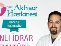 Özel Akhisar Hastanesi bilgilendiriyor; Kanlı İdrar nedir?