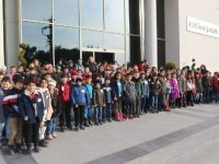 Akhisar Nadide Fazıl Aysu-Fatih İlkokulu öğrencileri şehrini keşfetti