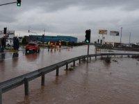 Akhisar'da iki günde metrekareye 152 kilogram yağış düştü