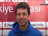 Arslan, Kayserispor maçı öncesi açıklamalarda bulundu