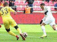 Akhisarspor, Kayseri'den avantajlı dönüyor