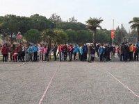 Okul sporları Bocce yıldızlar kız, erkek ilçe birinciliği yapıldı