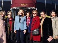 Akhisar'ın kadın sesleri projesi kapsamında Pınar Güney'i ziyaret ettiler