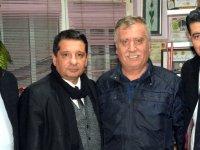 Büyükşehir'den Gazeteci Kenan Molla'ya ziyaret