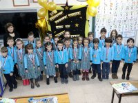 Akhisar Misak-ı Milli İlkokulunda karne heyecanı yaşandı