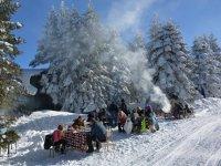 Aybek Turizm, beyaz inci Uludağ'dan döndü
