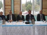 AK Parti Belediye Başkan Adayı Hüseyin Eryüksel, aday adayları ve partililer ile buluştu
