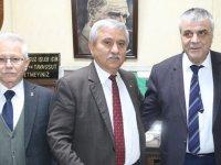AK Parti Belediye Başkan Adayı Eryüksel, Şoförler Odasını ziyaret etti