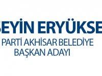 AK Parti Akhisar Belediye Başkan Adayı Hüseyin Eryüksel