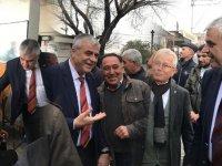 AK Parti Belediye Başkan Adayı Hüseyin Eryüksel, Seyitahmet ve Cumhuriyet Mahallesi esnafını ziyaret etti