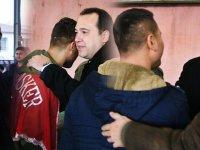 Dutlulu, askerleri dualarla uğurladı