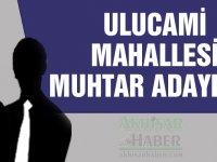 2019 yerel seçimlerinde Akhisar Ulucami Mahallesi muhtar adayları