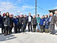 Fabrika işçilerinden Dutlulu'ya destek