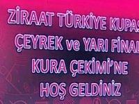 Akhisarspor'un Ziraat Türkiye Kupası çeyrek final rakibi belli oldu