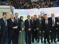 Cumhur ittifakı adayı Hüseyin Eryüksel, Ankara'da aday tanıtım toplantısına katıldı
