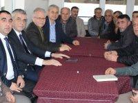 Belediye Başkan Adayı Hüseyin Eryüksel, Seyitahmet Mahallesini ziyaret etti