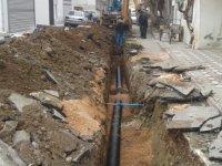 Efendi Mahallesi'ne ek kanalizasyon hattı