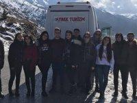 Aybek Turizm doya doya karın keyfini yaşadı