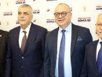 Cumhur ittifakı Manisa BŞB Adayı Ergün AK Parti Akhisar İlçe Teşkilatını ziyaret etti