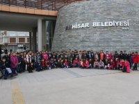 Zübeyde Hanım İlkokulu 3.sınıf öğrencileri artık birer fahri rehber oldu