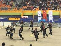 Halk Oyunları Manisa birinciliği yarışması yapıldı