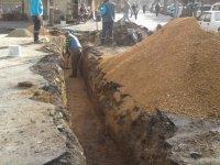 Kethüda mahallesine yağmursuyu hattı döşendi