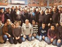Ülkü Ocakları, ilçe müftüsü Türkmenoğlu'nu ağırladı