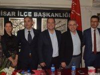 Millet ittifakı Manisa BŞB Adayı Şıktaşlı, CHP İlçe Teşkilatını ziyaret etti