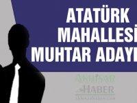 2019 yerel seçimlerinde Akhisar Atatürk Mahallesi muhtar adayları