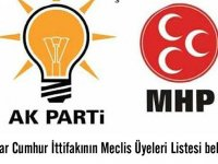 Akhisar Cumhur İttifakının Meclis Üyeleri Listesi belli oldu