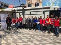 Akhisar Gençlik Merkezinden kan bağışı etkinliği