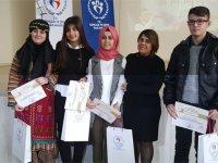 Zeynep Gülin Öngör, 'Bir şiir bir nefes' yarışmasına katıldı
