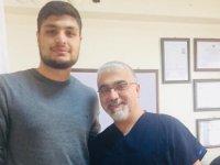 Türkiye boks şampiyonu Özel Doğuş Hastanesi'nde
