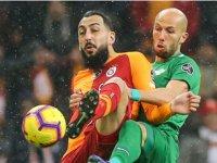 Akhisarspor, Galatasaray deplasmanında uzatmalarda yıkıldı
