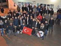 Besim Dutlulu'ya Yeniceköy'de davullu zurnalı karşılama