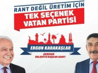 Vatan Partisi Akhisar Belediye Başkan Adayı Ergun Karakaşlar