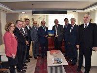 Başkan Ergün, Milletvekili Baybatur'u ağırladı