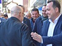 """Dutlulu, """"Tüm Akhisarlıların belediye başkanı olmaya adayım"""""""