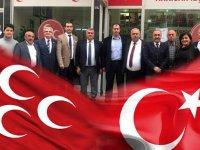 MHP ilçe başkanından meclis üyelerine teşekkür