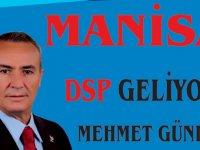 DSP Manisa Büyükşehir Belediye Başkan Adayı Mehmet Gündüz