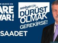 Saadet Partisi Adayı Ali Dursun, başkan adaylarının projeleri tam bir fiyasko