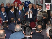 Hüseyin Eryüksel, Balkan Göçmenleri Derneğini ziyaret etti