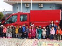 Zehra Muhittin Kavaklı Anaokulunda yangın tatbikatı