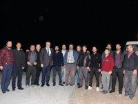 Hüseyin Eryüksel, Kayalıoğlu Mahallesinde Erzurumlu Genç kardeşlerin misafiri oldu