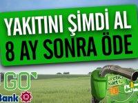 GO Kayalı Akaryakıt'ta çiftçilere özel kampanya! Şimdi al 8 ay sonra öde!