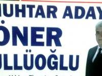 Paşa Mahallesi Muhtar Adayı Öner Güllüoğlu