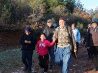 Doğa Yürüyüşünün 22.hafta parkuru da Kayganlı Parkuru oldu