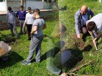 Süleymanlı Şehit Mehmet Dönmez Ortaokulu'ndan, Her Öğrenciye Bir Ağaç Projesi