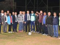 Hüseyin Eryüksel, Çağlayanspor Kulübünü ziyaret etti